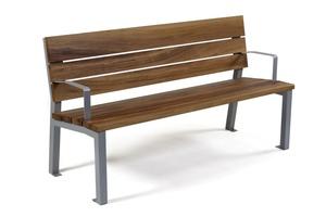 b14b46a09654f Vďaka svojim vlastnostiam ho Ukážka lavičky s tropickým drevom